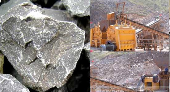 Limestone Crushing Plant : Ton per hour capacity limestone crushing production