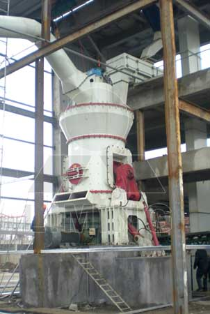 Vertical vibrating ball mill grinder machine