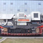 Mobile crushing plant brings new life to construction waste