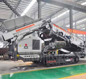 Tracked Jaw Crusher for sale in Mexico