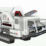 Mobile Crusher shows great power in City Construction
