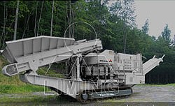 Mobile Cone Crusher Application