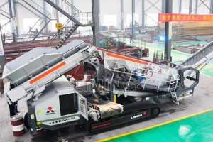 How to choose a tracked vibrating screen