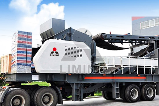 Wheeled Impact Crusher