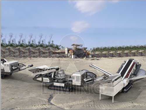 Two stage Combination Crushing Series Mobile Crusher