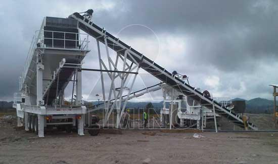 mobile granite crusher  new choice for granite crushing equipment