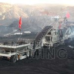 Application of portable crushing machine in the coal industry