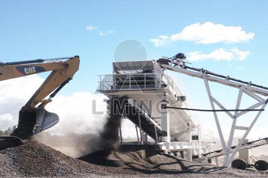 mobile barite crusher,barite crushing machine supplier