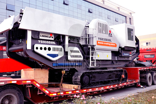 Mobile jaw crusher: to be the necessity of express highway sand aggregate making industry