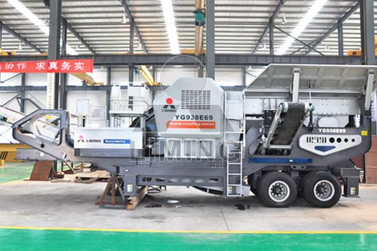 river stone crushing & screening plant