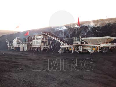 coal crusher used in the coal beneficiation line