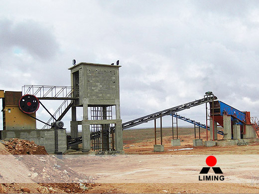 Typical Set up for a Stone Crushing Plant