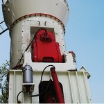 vertical roller mill used in the ore grinding process