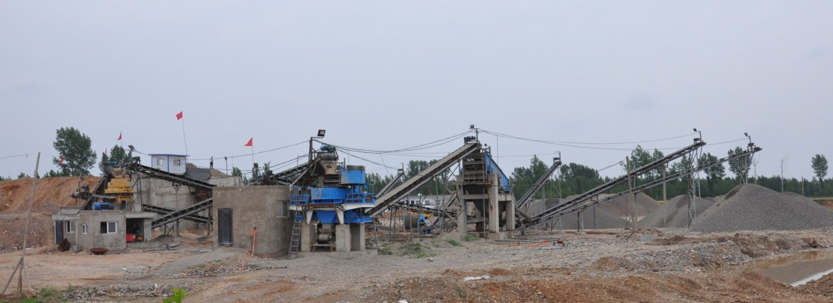 Silica sand production line supplier in China