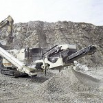 set up of aggregate crushing plant