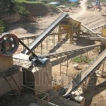 Complete picture of quarry crushing plants