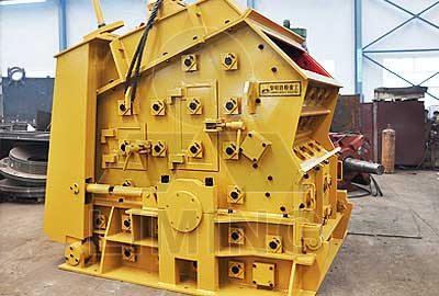 PF1210 impact crusher machine technical data and pictures