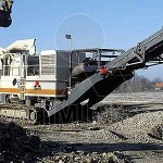 mobile gravel stone crusher