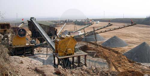 specification for static crushing and screening equipments