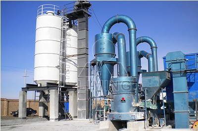 silica sand grinding mill with super fine size