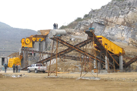 quarry crusher types