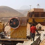 Jaw crusher pulverizer for iron ore
