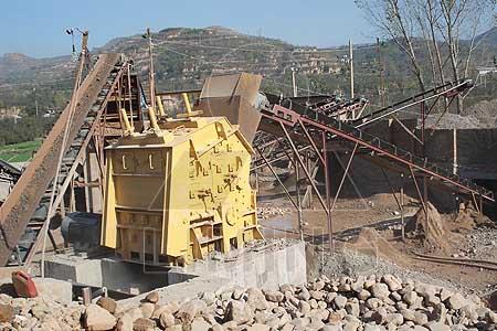 hammer type impact pulverizer machine
