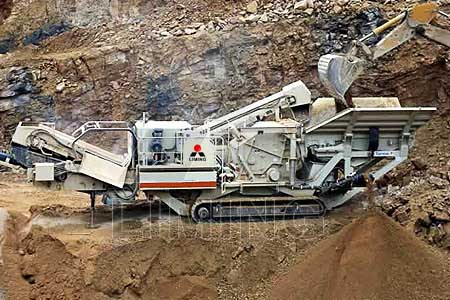 Mobile Impact Crushers in mining and quarrying application