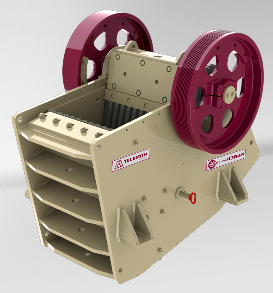 Telsmith jaw crusher for hard stone with high performance