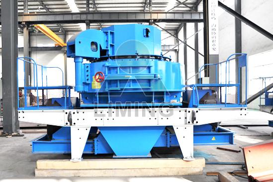 Vertical Shaft Impact Crusher with adjustable output size 0 to 6mm