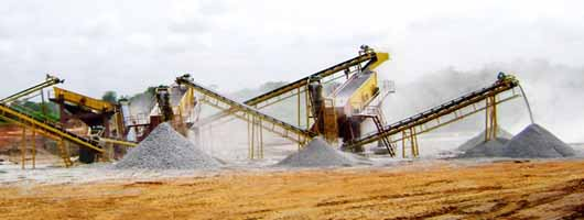 The cost of artificial gravel production line