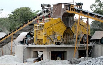 Impact crusher machines for gold ore