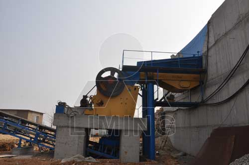 Features and capacity of stone crushers