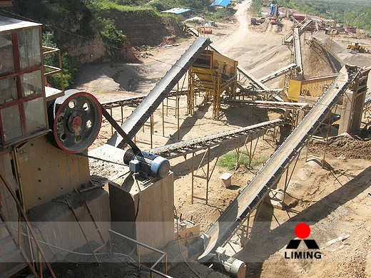 Fixed crushing plant in mining
