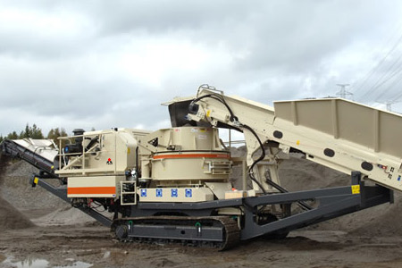 portable crushed sand making equipment