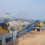 Quarry crusher and conveyor plant in Saudi Arabia