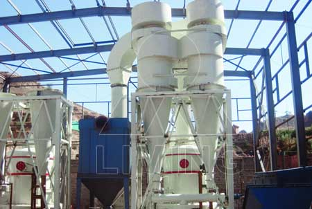 Industrial gravel grinder mill