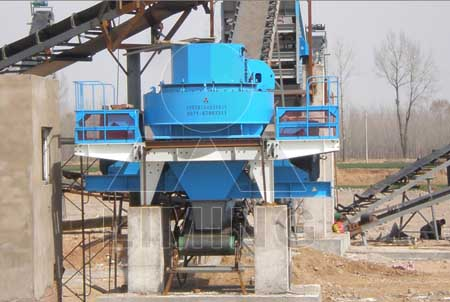 VSI crushers apply for silica sand making