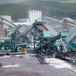 steel slag crusher machine