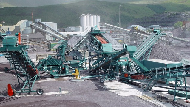 steel slag crusher machine