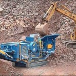Terex pegson mobile primary jaw crusher