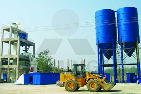Machines for processing lime into calcium carbonate