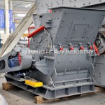 European version hammer crusher in cement process plant