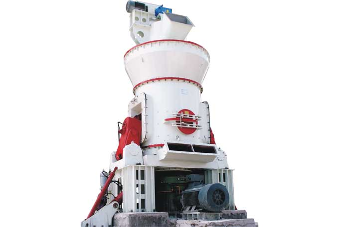 classifier of vertical raw mill in cement plant