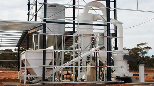 talcum powder manufacturing process and machinery