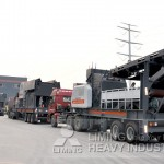 Mobile crusher for largest gypsum production manufacturer Thailand