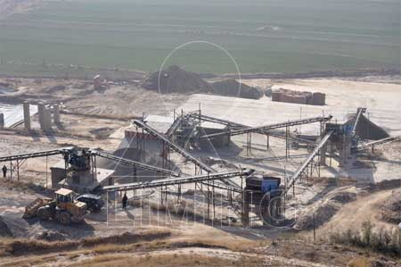 Input output ratio cost analysis of manufactured sand production line