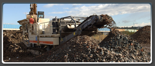heavy duty hydraulic tracked mobile crusher price