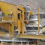 used locomo cone rock crusher company in Brazil