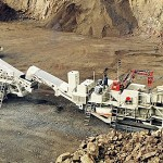capable of mobile fine rock crusher